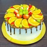 Торт «Апельсиновый рай»