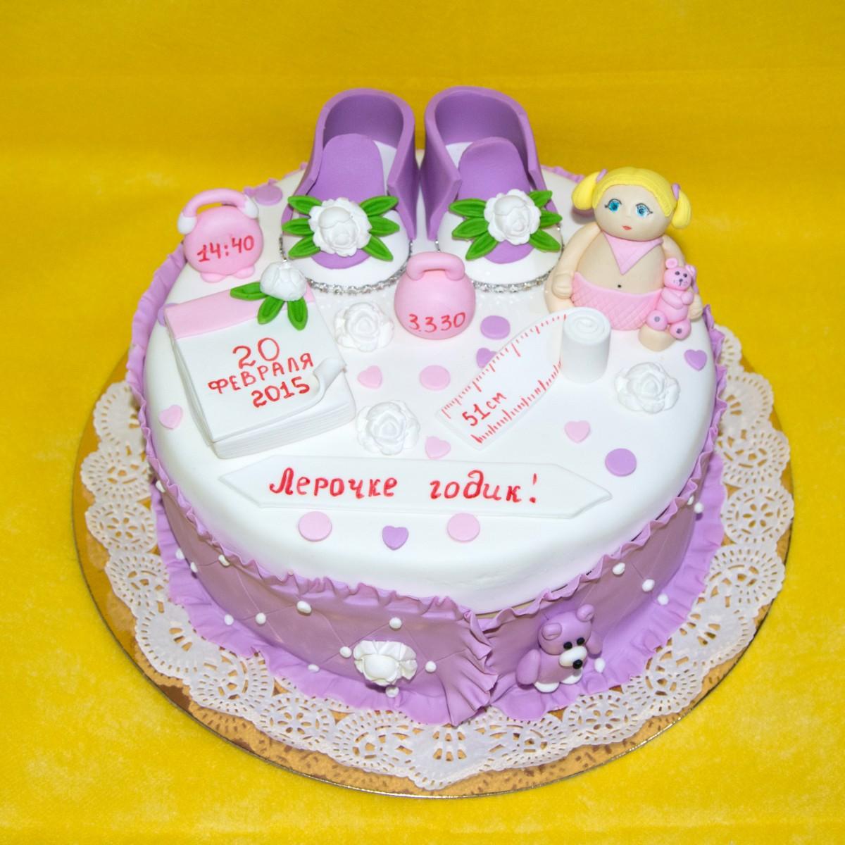 Украшения тортов на 1 годик фото