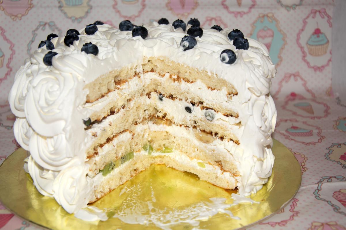 Белый торт рецепт с фото пошагово в домашних условиях 530